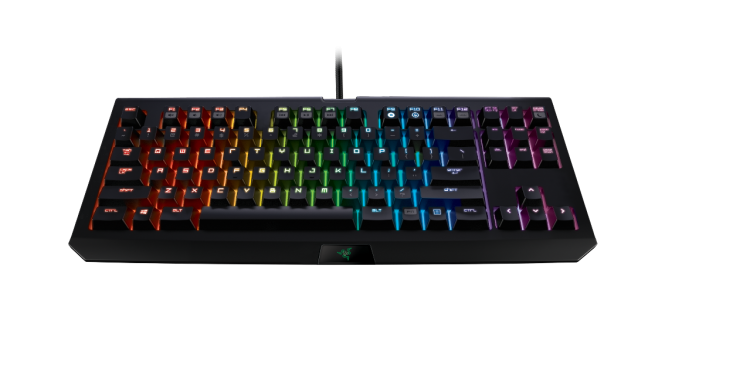razer blackwidow tournament edition front photo