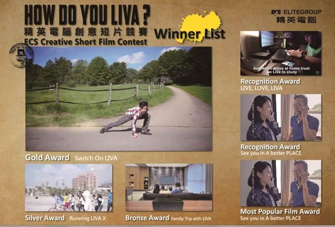 Resultados do concurso do Liva