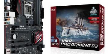 Linha B150 Pro Gaming D3 ASUS