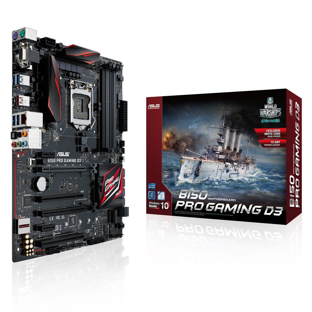 B150 Pro Gaming D3_3Dbox+MB (WOW version)