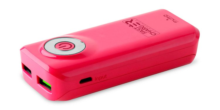 Power bank 40 rosa