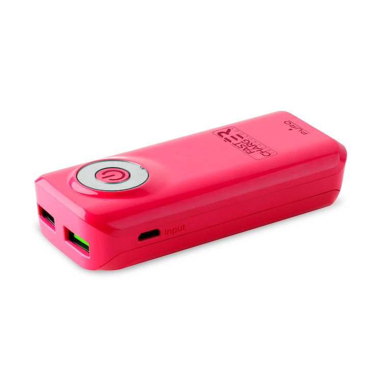 Power bank 40 rosa