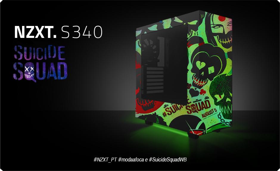 Case Mod - NZXT S340 Suicide Squad | Hardware Canucks