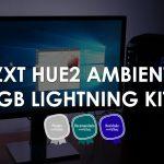 NZXT HUE2 RGB Ambient Lightning Kit