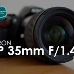 Tamron - SP 35mm F/1.4 Di USD